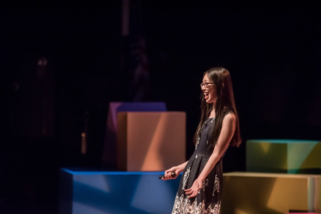Anna Zhang at TEDxNavesink photographed by Jennifer Bennett Photography
